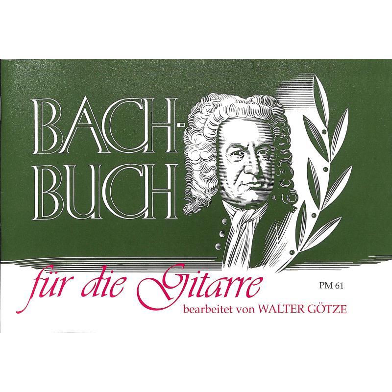 Produktinformationen zu BACHBUCH FUER DIE GITARRE PM 61