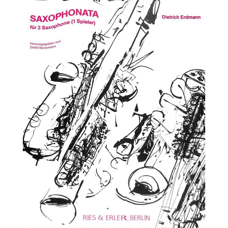 Titelbild für RE 24002 - SAXOPHONATA