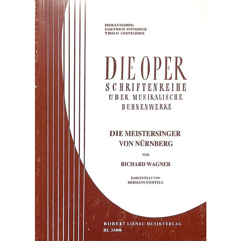 Titelbild für RL 33400 - WAGNER - DIE MEISTERSINGER VON NUERNBERG