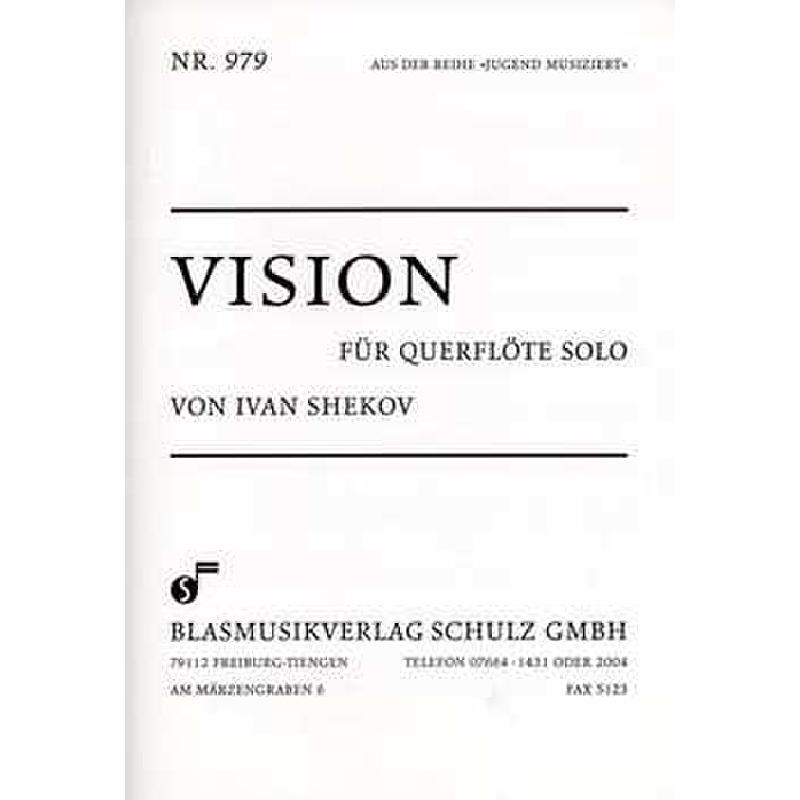 Titelbild für SCHULZ 979 - VISION