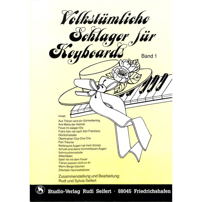 Titelbild für SEIF 17014001 - VOLKSTUEMLICHE SCHLAGER 1