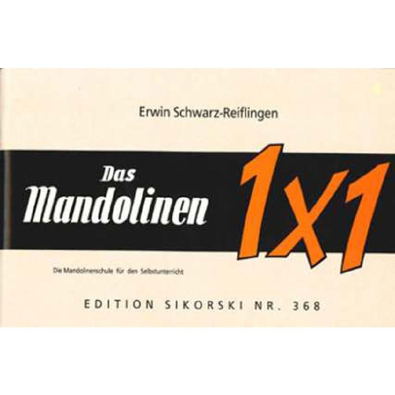 Titelbild für SIK 368 - DAS MANDOLINEN 1 X 1