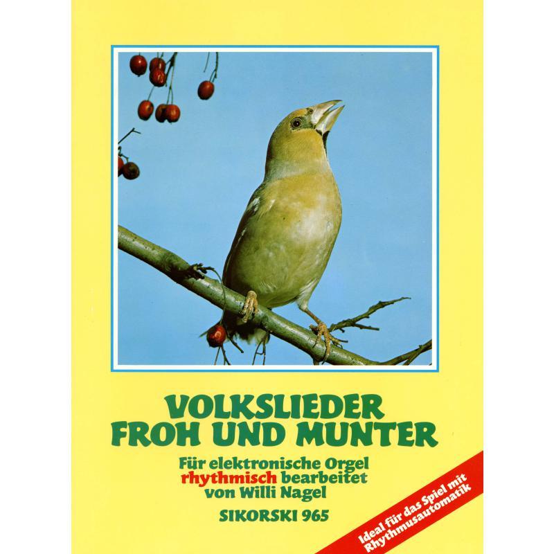 Titelbild für SIK 965 - VOLKSLIEDER FROH UND MUNTER