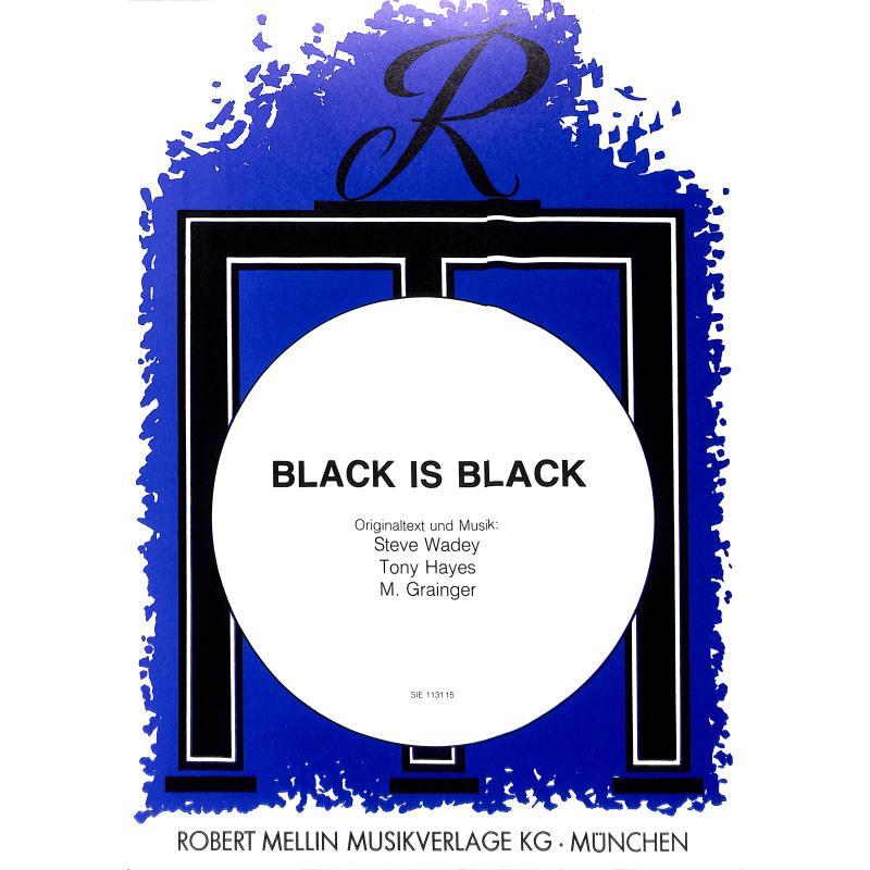Titelbild für SIE 113115 - BLACK IS BLACK