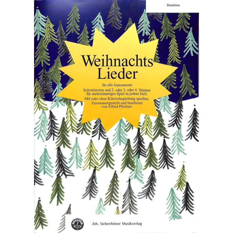 Titelbild für SIEB 20560 - WEIHNACHTSLIEDER