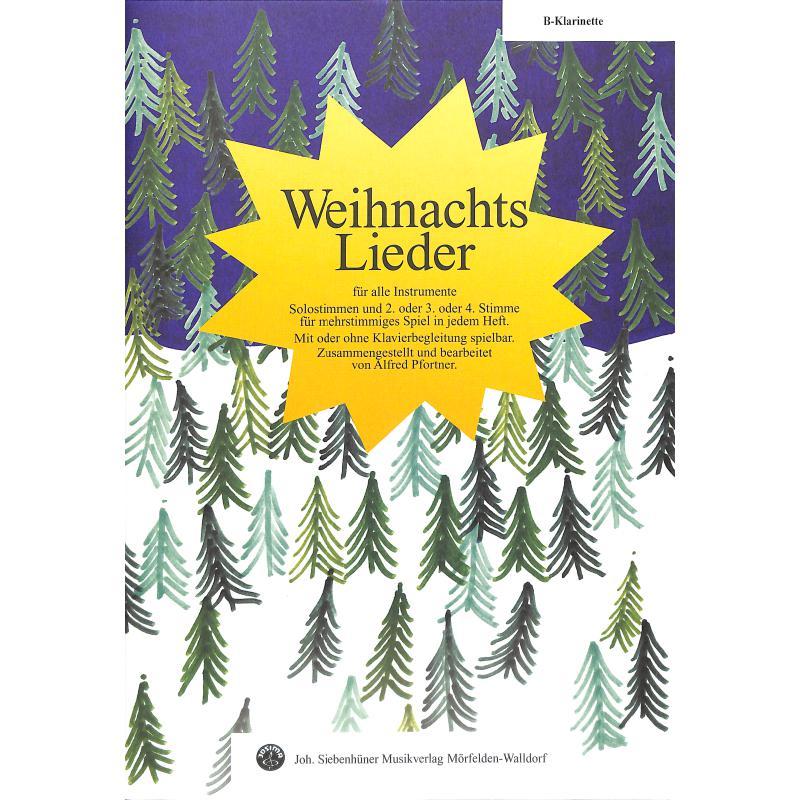 Titelbild für SIEB 20563 - WEIHNACHTSLIEDER