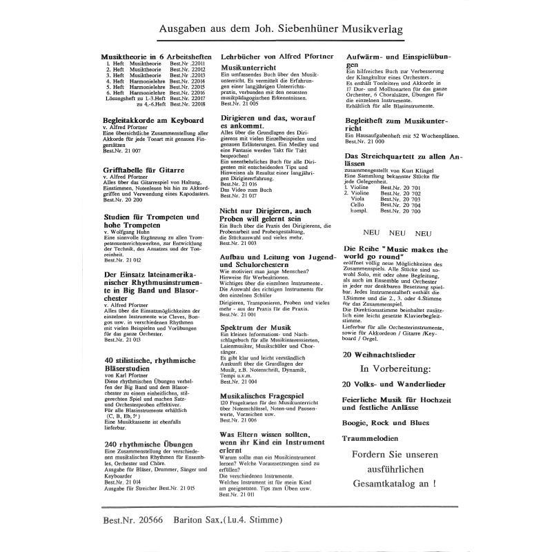 Notenbild für SIEB 20566 - WEIHNACHTSLIEDER