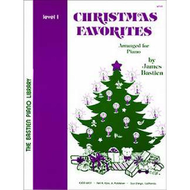 Titelbild für KJOS -WP49 - CHRISTMAS FAVORITES 1