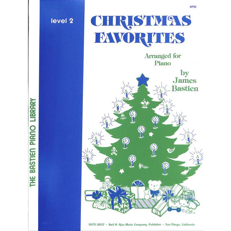 Produktinformationen zu CHRISTMAS FAVORITES 2 KJOS -WP50
