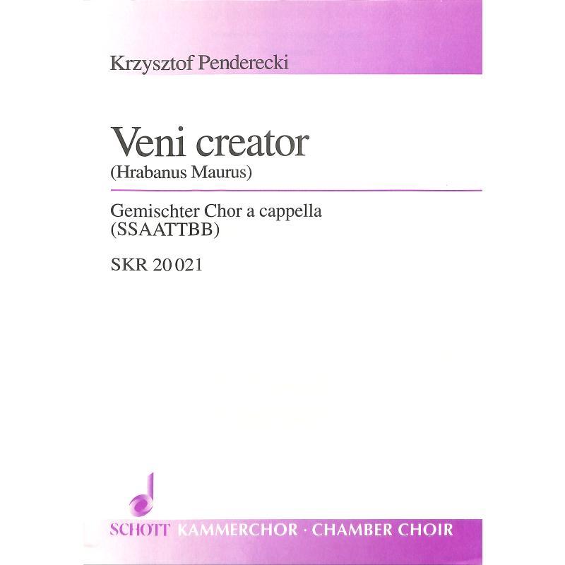 Titelbild für SKR 20021 - VENI CREATOR