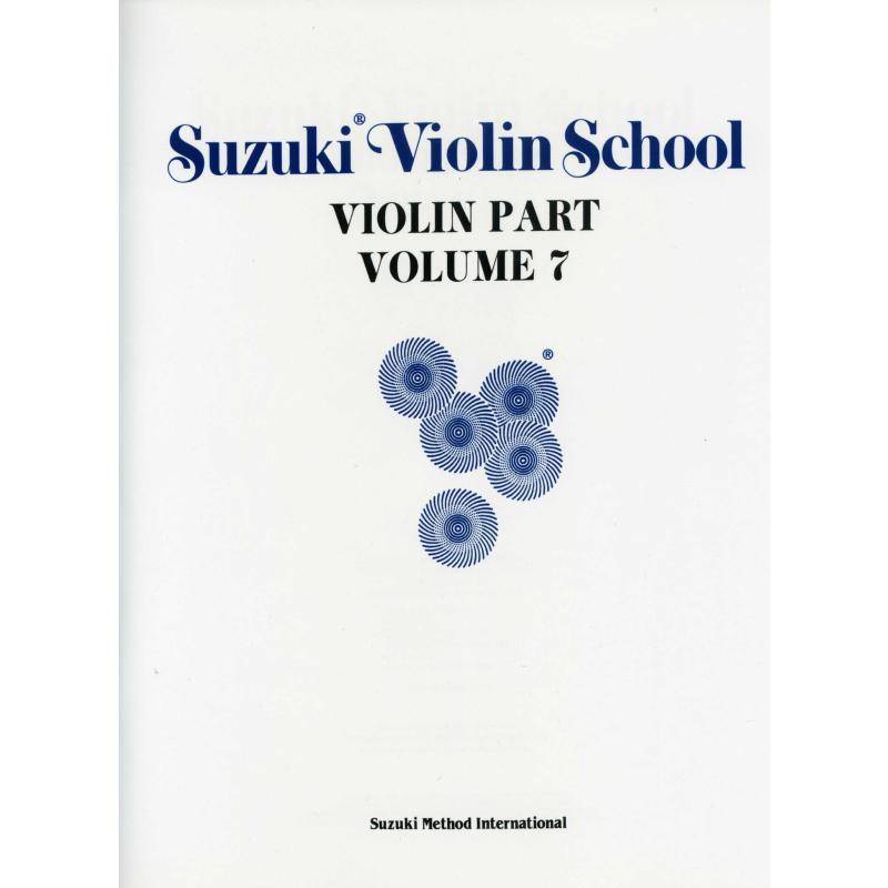 Titelbild für SBM 0156 - Violin school 7