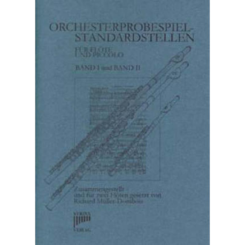 Titelbild für SYRINX 65 - ORCHESTERPROBESPIEL STANDARDSTELLEN BD 1 + 2