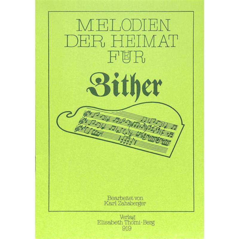 Titelbild für TB 919 - MELODIEN DER HEIMAT