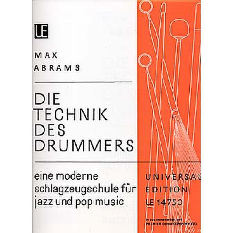 Titelbild für UE 14750 - DIE TECHNIK DES DRUMMERS