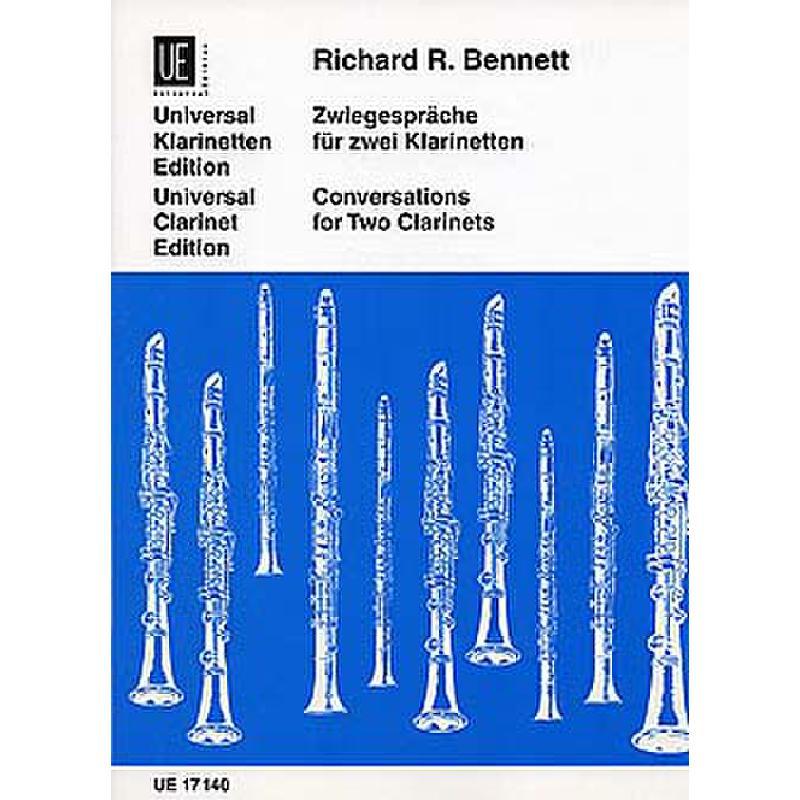 Titelbild für UE 17140 - ZWIEGESPRAECHE - CONVERSATIONS
