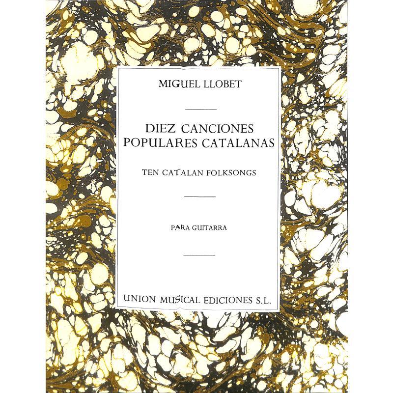 Titelbild für UMG 20372 - 10 CATALAN FOLKSONGS