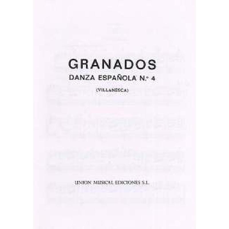 Titelbild für UMP 70920 - VILLANESCA (DANZA ESPANOLA 4)