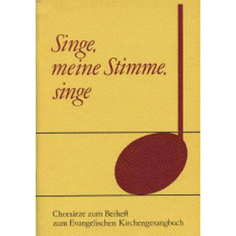 Titelbild für VS 1191 - SINGE MEINE STIMME