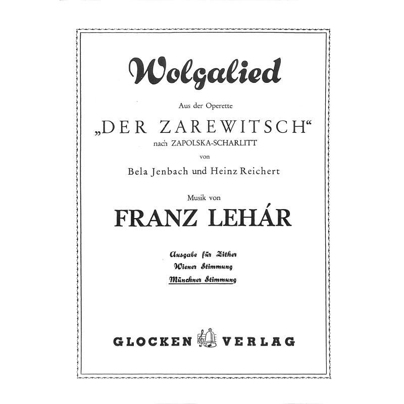 Titelbild für WEINB 682-20 - WOLGALIED (ZAREWITSCH)