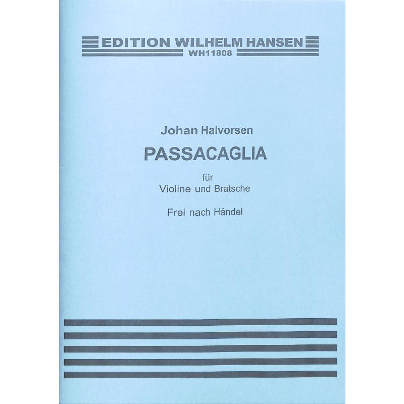 Titelbild für WH 11808 - PASSACAGLIA