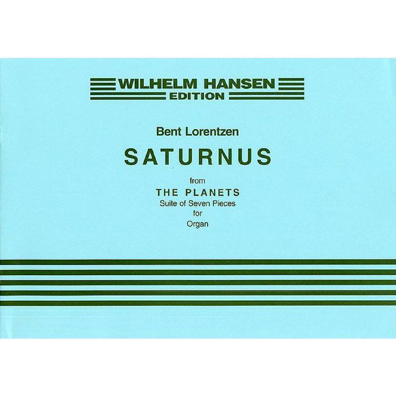 Titelbild für WH 30408 - SATURNUS (THE PLANETS)