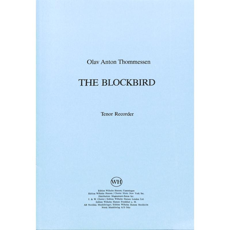 Titelbild für WH 29680 - THE BLOCKBIRD