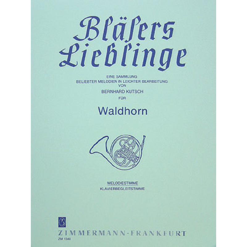 Titelbild für ZM 13400 - WALDHORN KLAENGE
