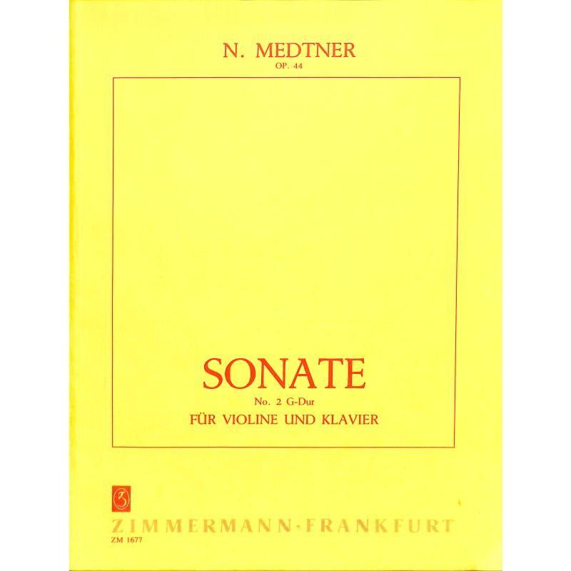 Titelbild für ZM 16770 - ZWEITE SONATE OP 44