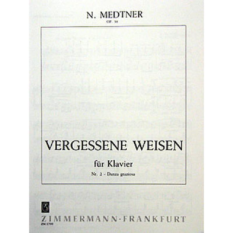 Titelbild für ZM 17000 - VERGESSENE WEISEN OP 38/2