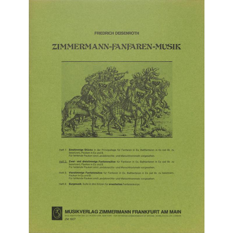 Titelbild für ZM 19270 - FANFAREN MUSIK 2