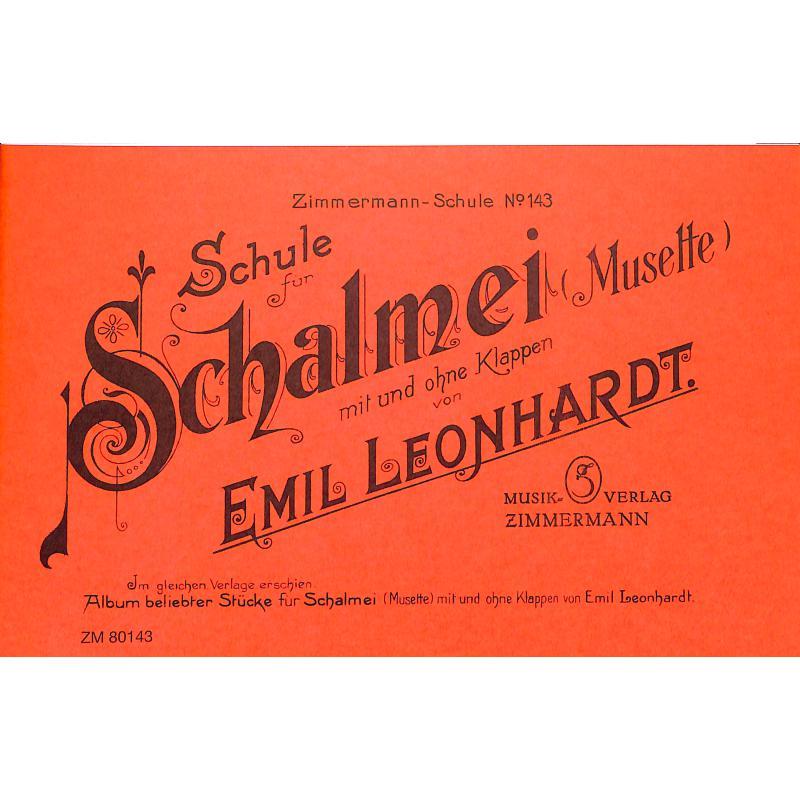 Titelbild für ZM 80143 - SCHALMEISCHULE