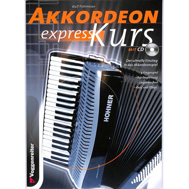 Titelbild für VOGG 0210-4 - AKKORDEON EXPRESS KURS