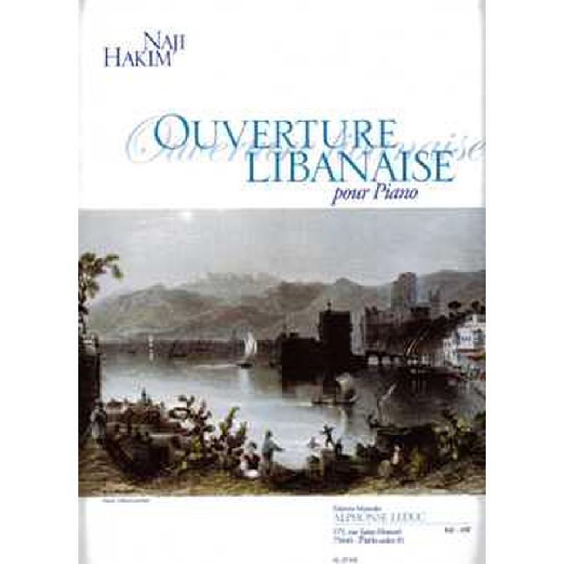 Titelbild für AL 29545 - OUVERTURE LIBANAISE