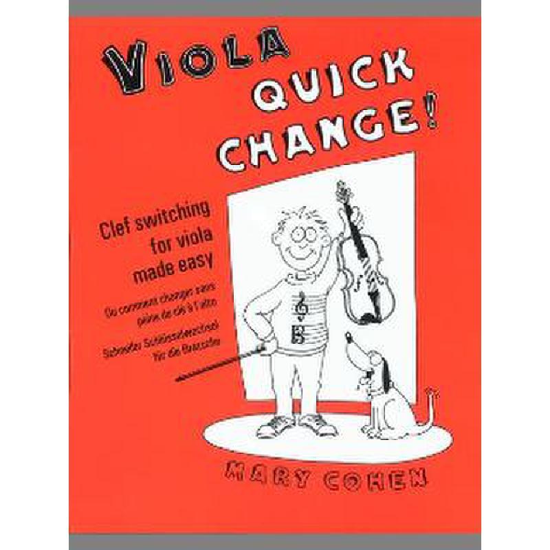 Titelbild für ISBN 0-571-51668-8 - VIOLA QUICK CHANGE