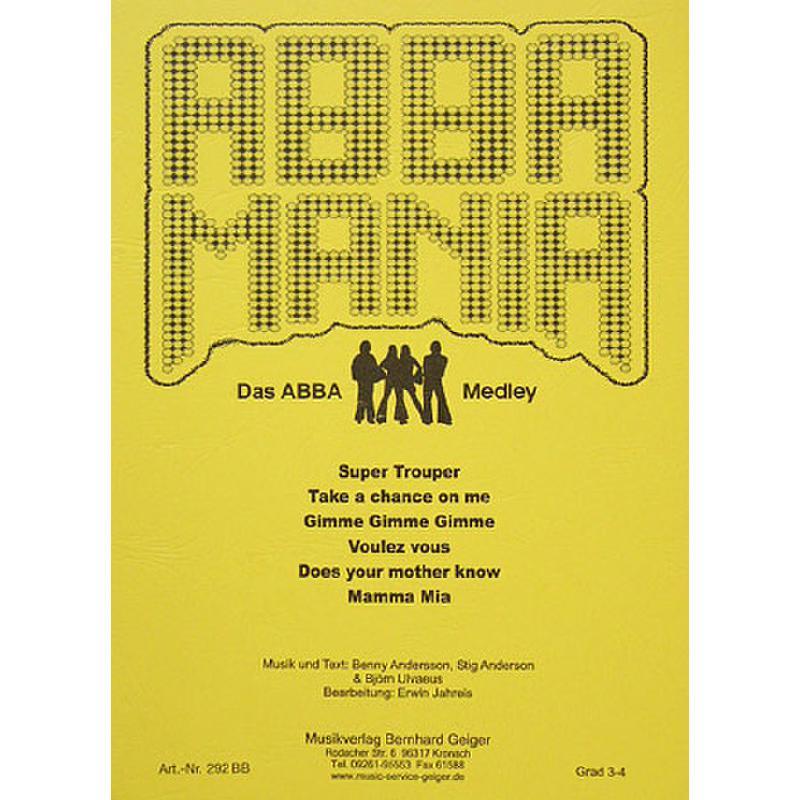 Titelbild für GEIGER 292-BB - ABBA MANIA