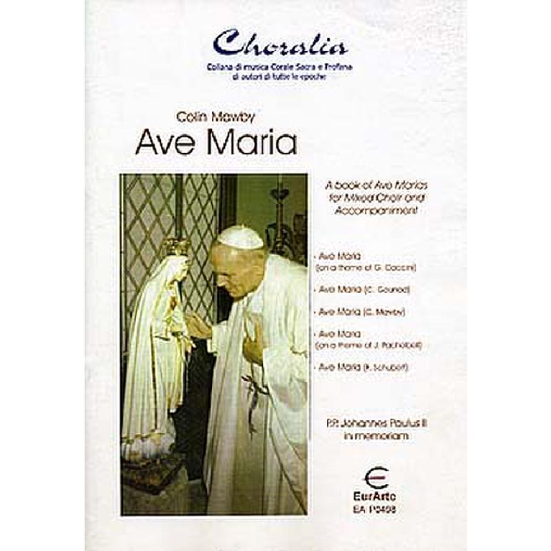Titelbild für EAP 0498 - AVE MARIA - JOHANNES PAUL II IN MEMORIAM