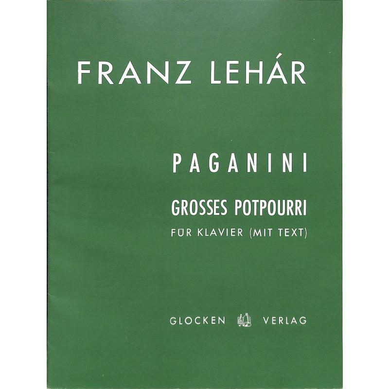 Titelbild für WEINB 597-20 - PAGANINI - GROSSES POTPOURRI