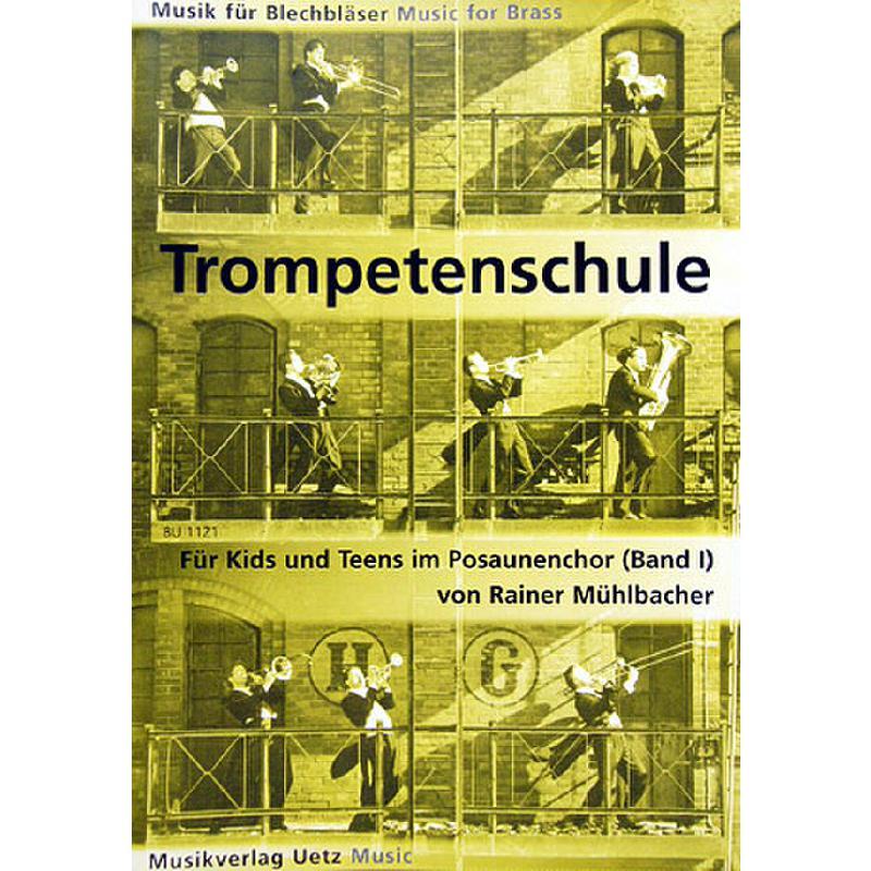 Titelbild für UETZ 1121 - TROMPETENSCHULE 1 FUER KIDS + T