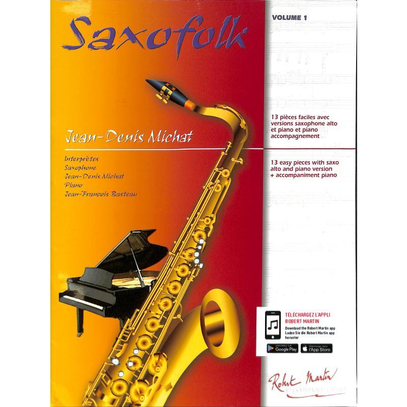 Titelbild für MARTIN 3695 - SAXOFOLK 1