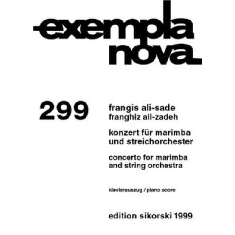 Titelbild für SIK 1999 - KONZERT - MARIMBA STR
