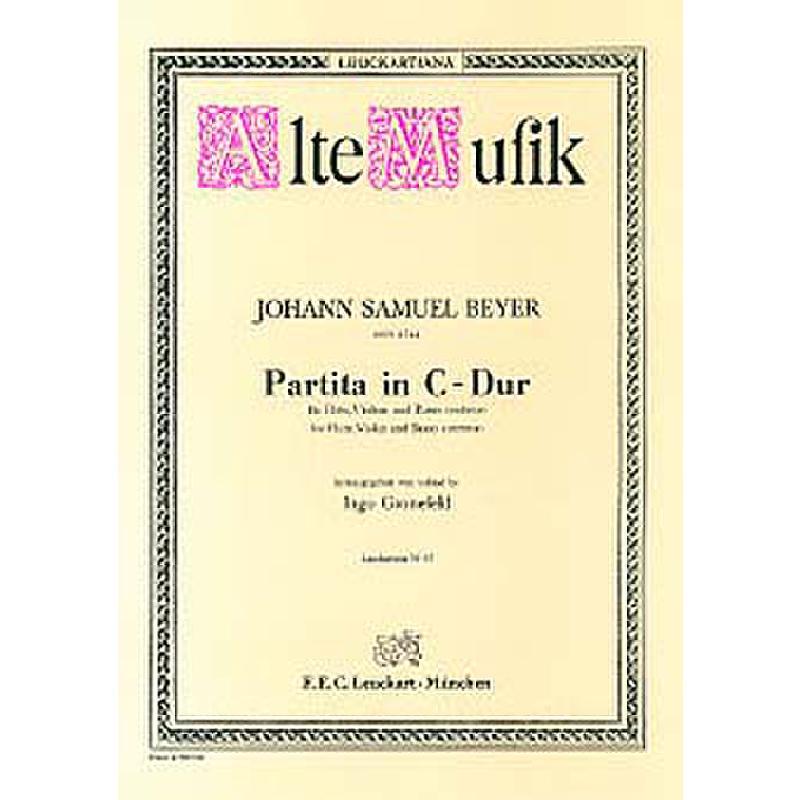 Titelbild für AM 25 - PARTITA C-DUR