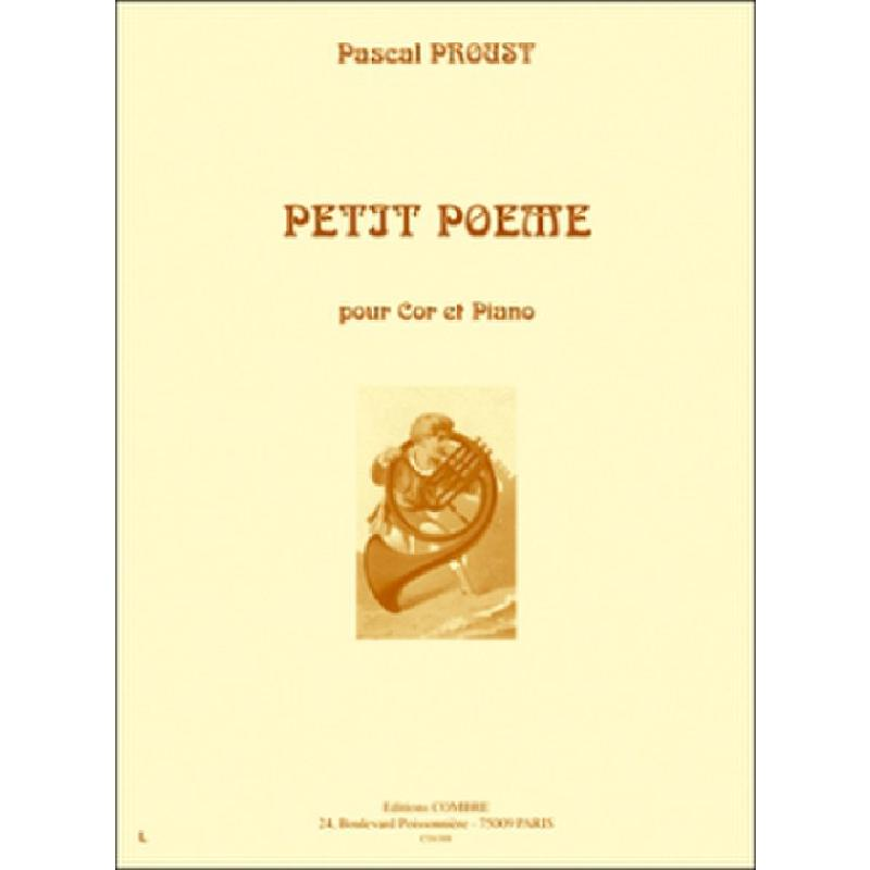 Titelbild für COMBRE 6388 - PETIT POEME