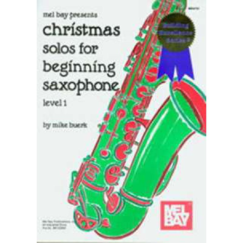 Titelbild für MB 94720 - CHRISTMAS SOLOS FOR BEGINNING SAX
