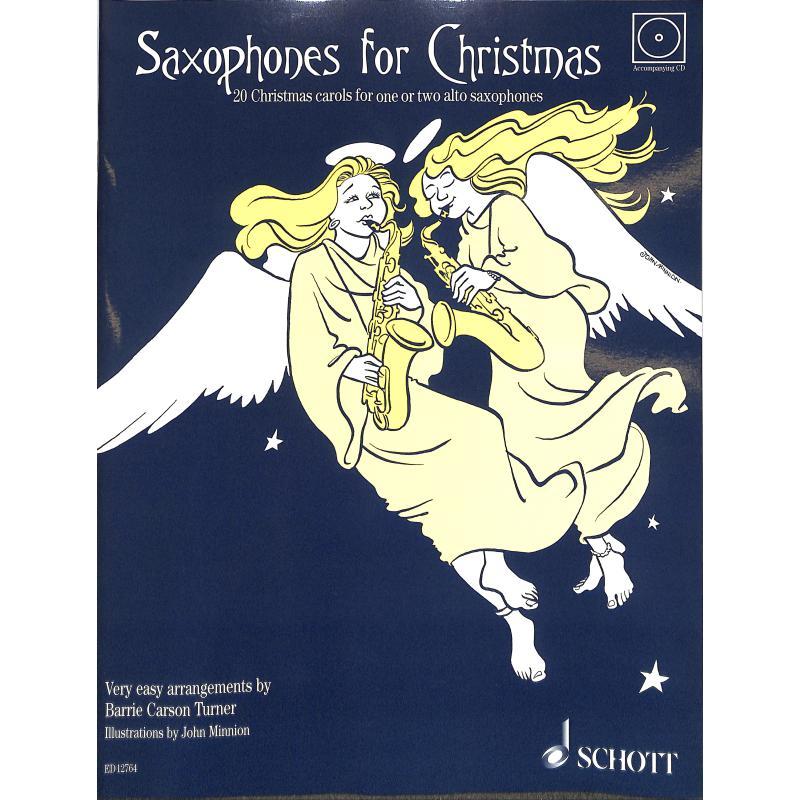 Titelbild für ED 12764 - SAXOPHONES FOR CHRISTMAS