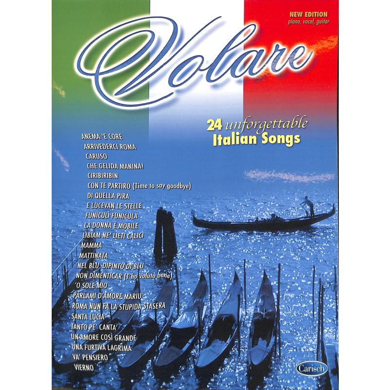 Titelbild für ML 2623 - VOLARE - 24 UNFORGETABLE SONGS