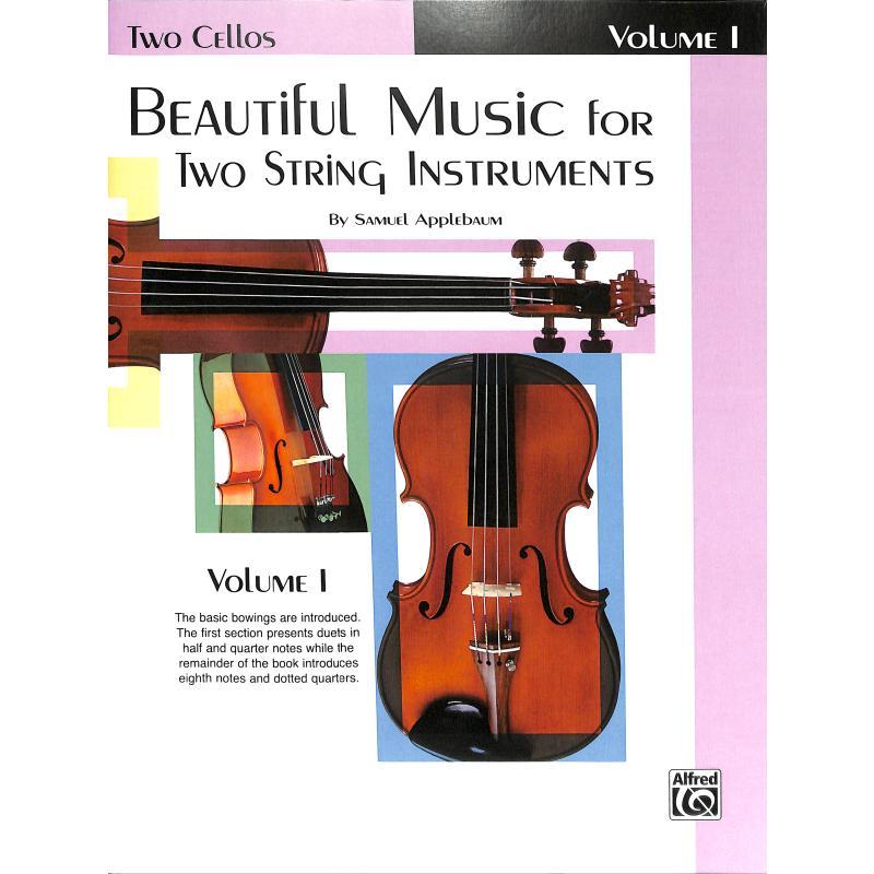 Produktinformationen zu BEAUTIFUL MUSIC FOR 2 STRING INSTRUMENTS 1 EL 02201