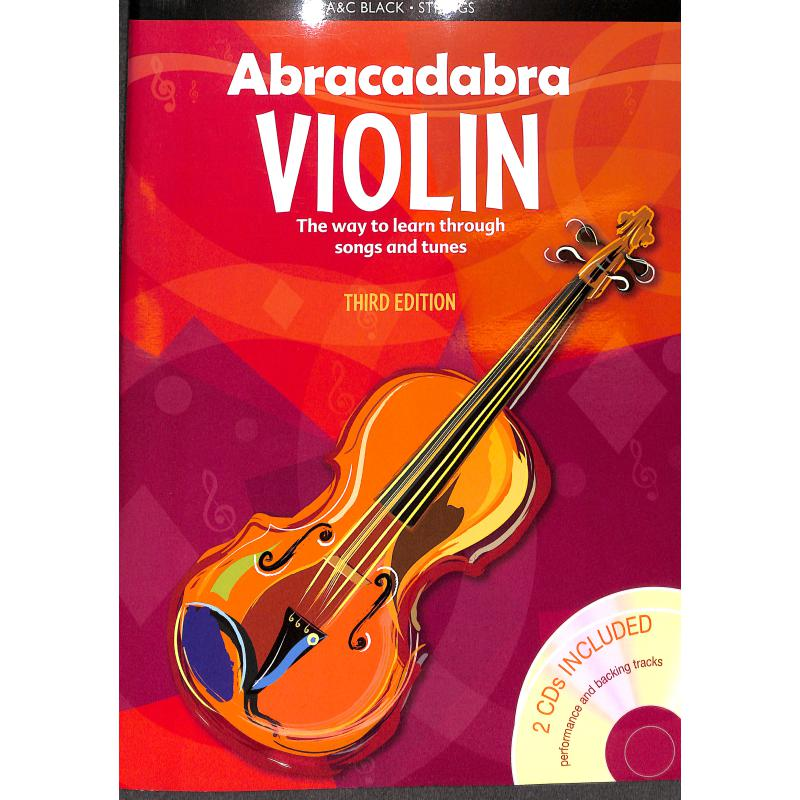 Titelbild für AB 6309 - ABRACADABRA VIOLIN BOOK 1