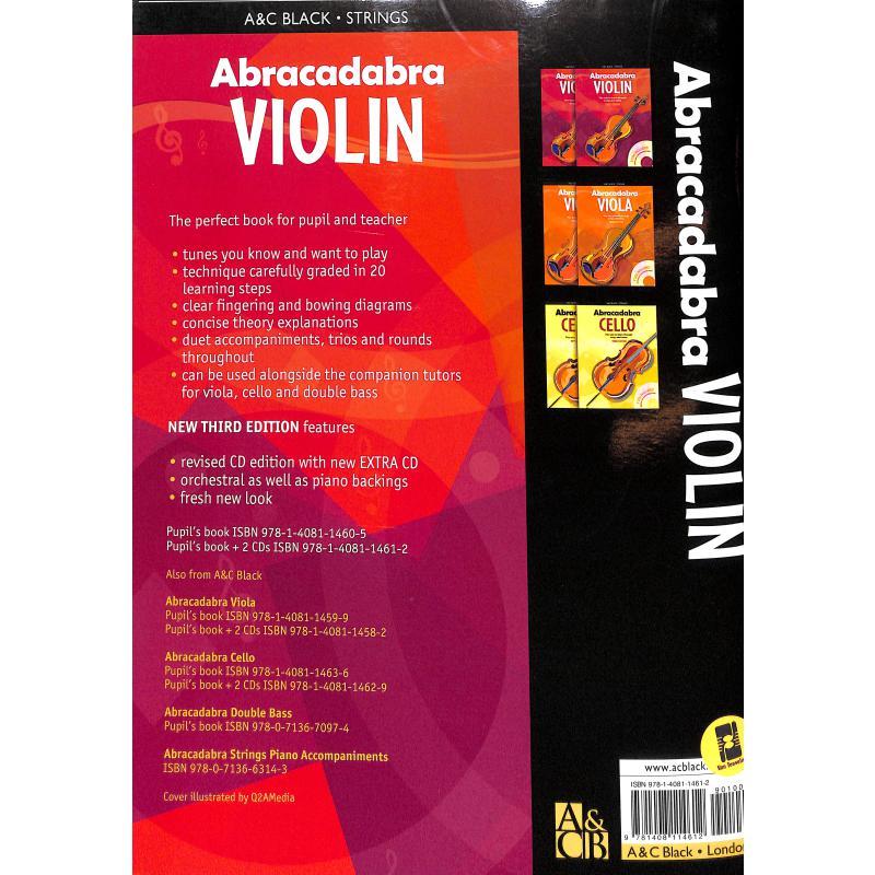 Notenbild für AB 6309 - ABRACADABRA VIOLIN BOOK 1