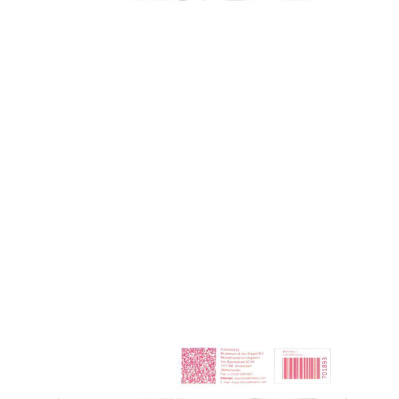 Notenbild für BVP 650 - VIOLINSCHULE 1 (VIOOLMETHODE)