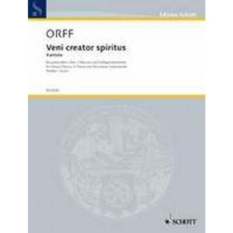 Titelbild für ED 6020-01 - VENI CREATOR SPIRITUS